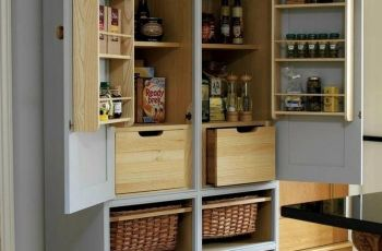 Free Standing Kitchen Cupboards