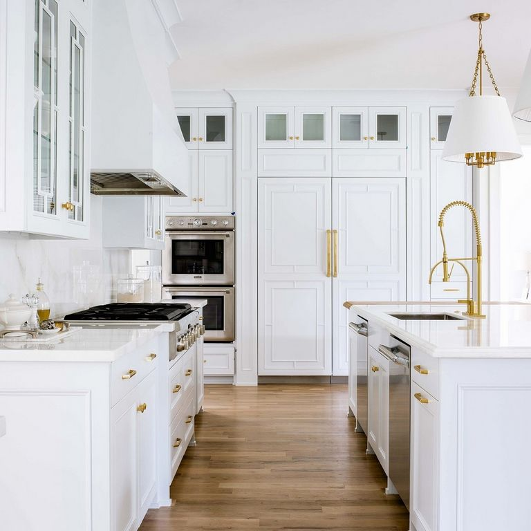 How To Fix Worn Spots On Kitchen Cabinets