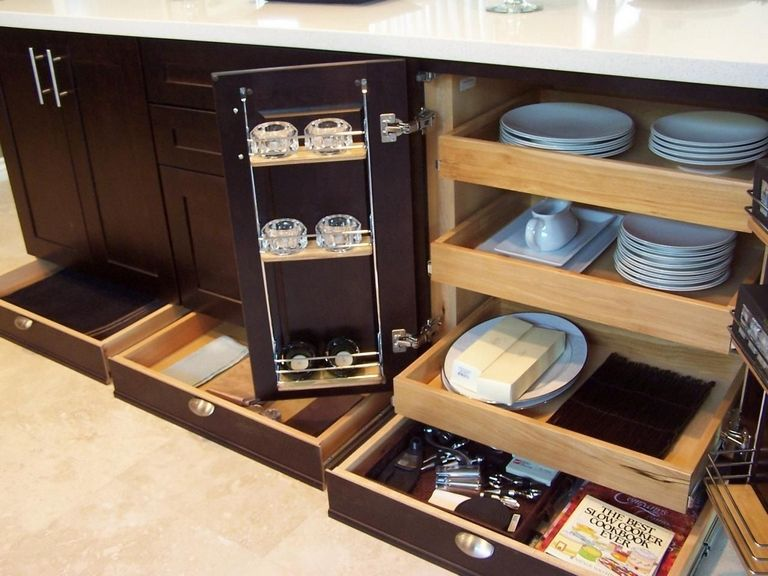 Kitchen Cabinet Space Saver