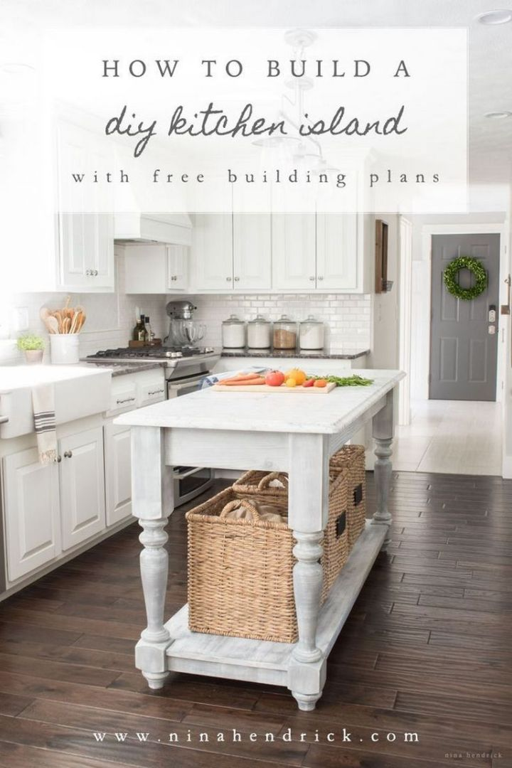 Kitchen Island Building Plans