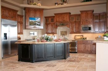 Kitchen Paint Colors With Oak Cabinets And Stainless Steel Appliances