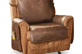 Leather Armchair Cover