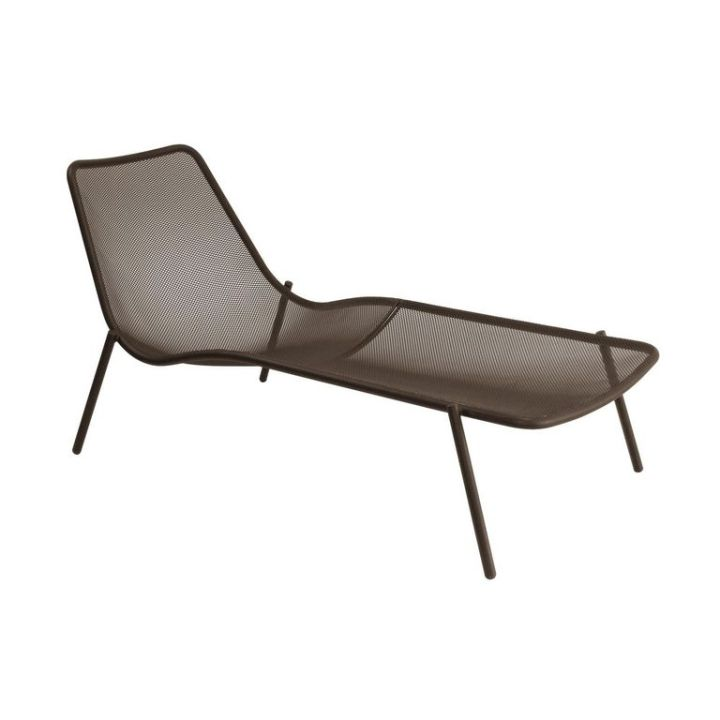 Round Outdoor Lounger