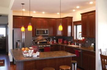 Small L Shaped Kitchen With Island
