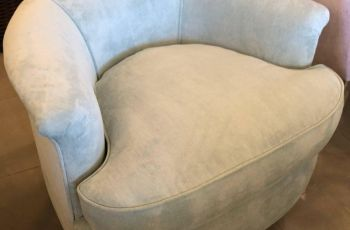 Swivel Armchairs Upholstered