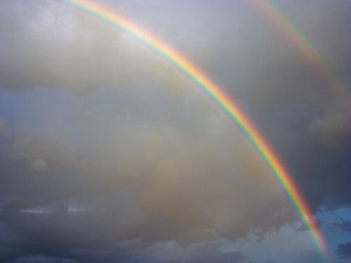 Double Rainbow Desktop Wallpaper
