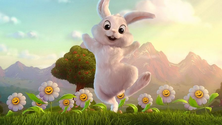 Lds Quotes Iphone Wallpaper Cute Bugs Bunny White Rabbit Cartoon Wallpaper For Desktop