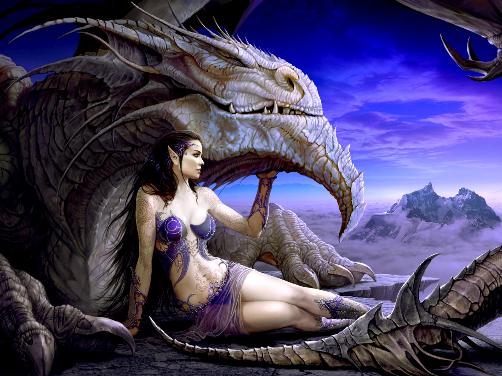 Animated Princess Wallpapers Dragon Queen Desktop Background Wallpaper 1639240