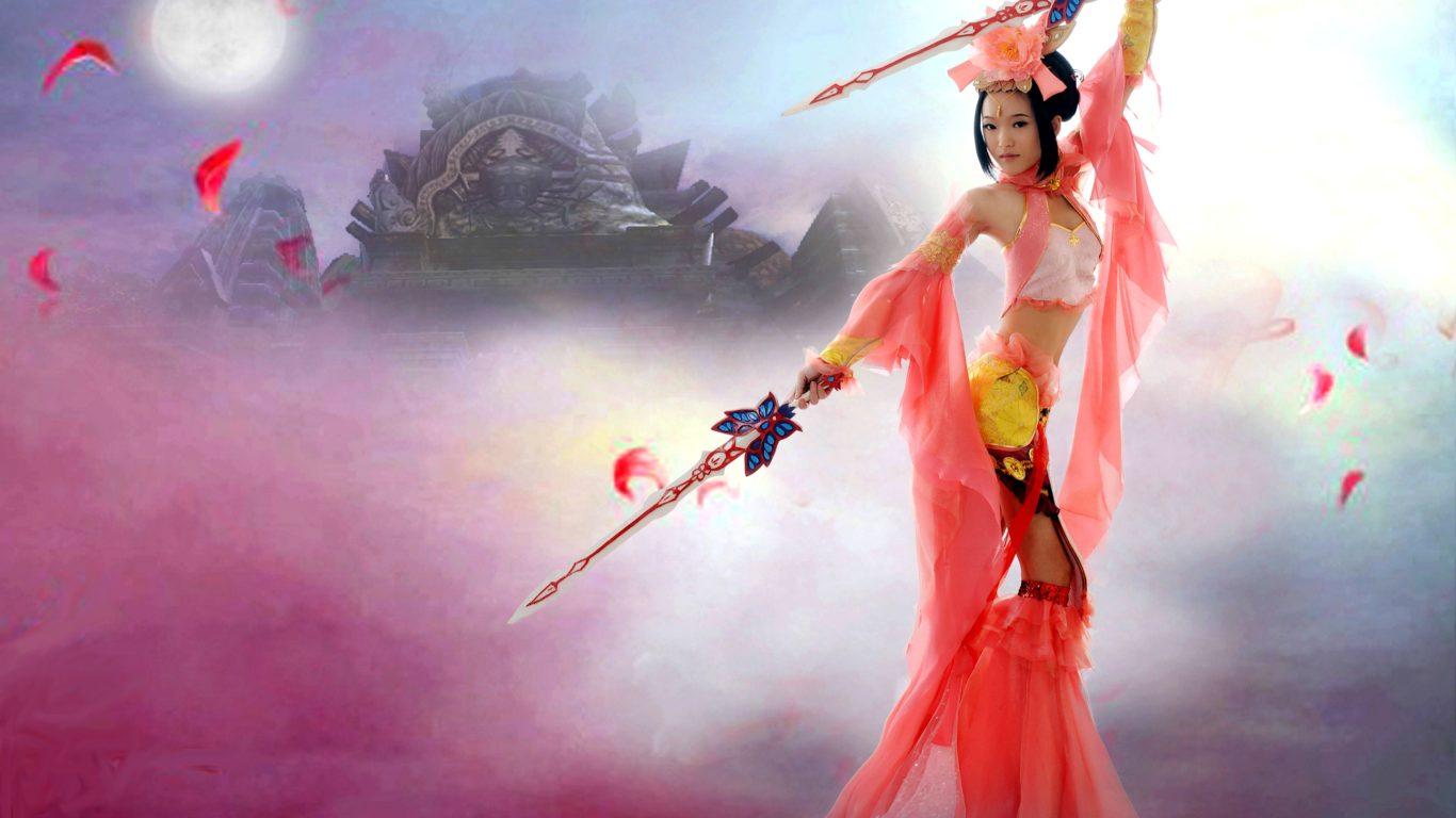 Vampire Girl Hd Wallpapers Dynasty Warrior Girl Desktop Background 588075
