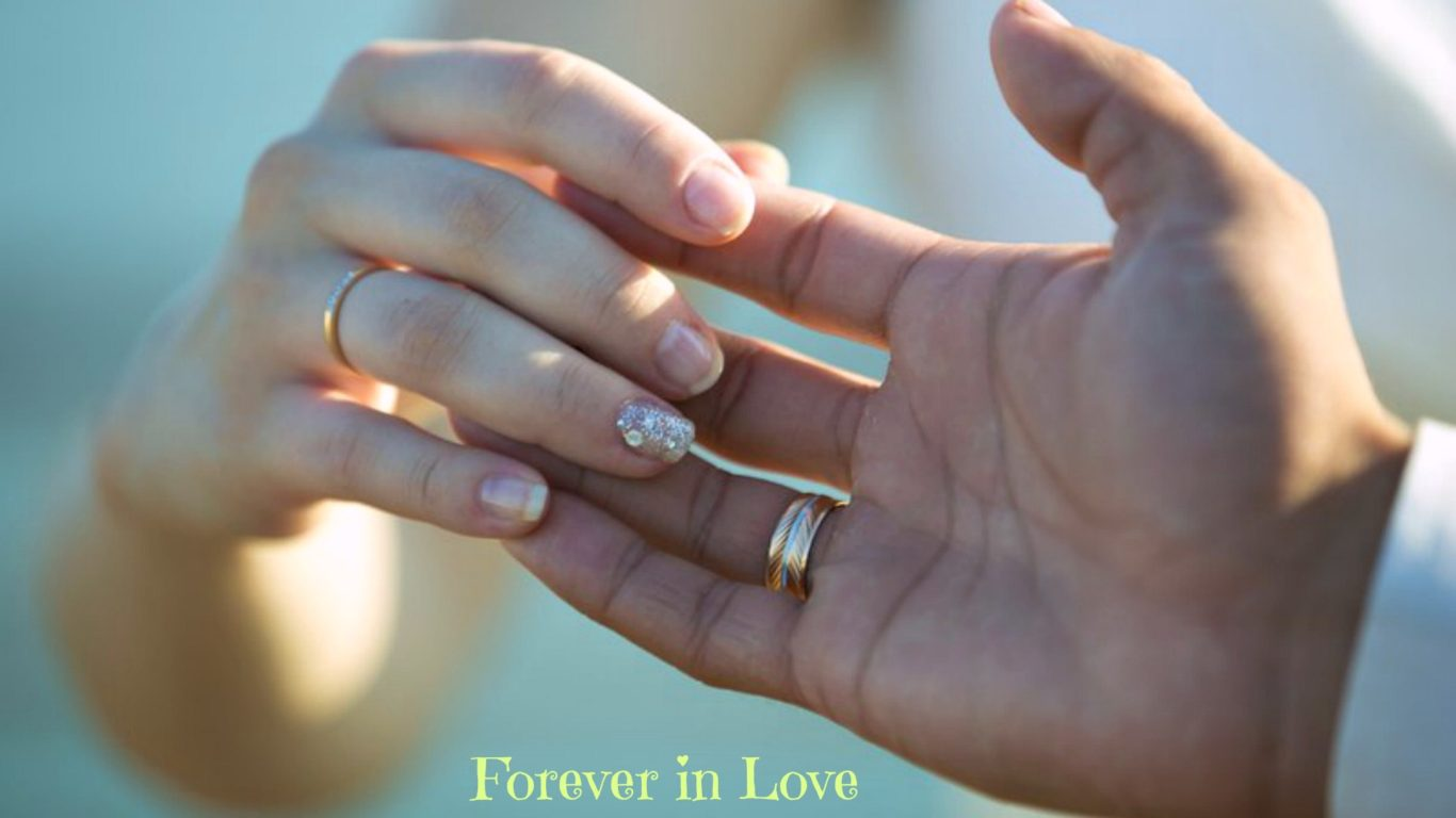 Best Cute Couples Hd Wallpapers Forever In Love Rings Wedding Hands Hd Wallpaper 15