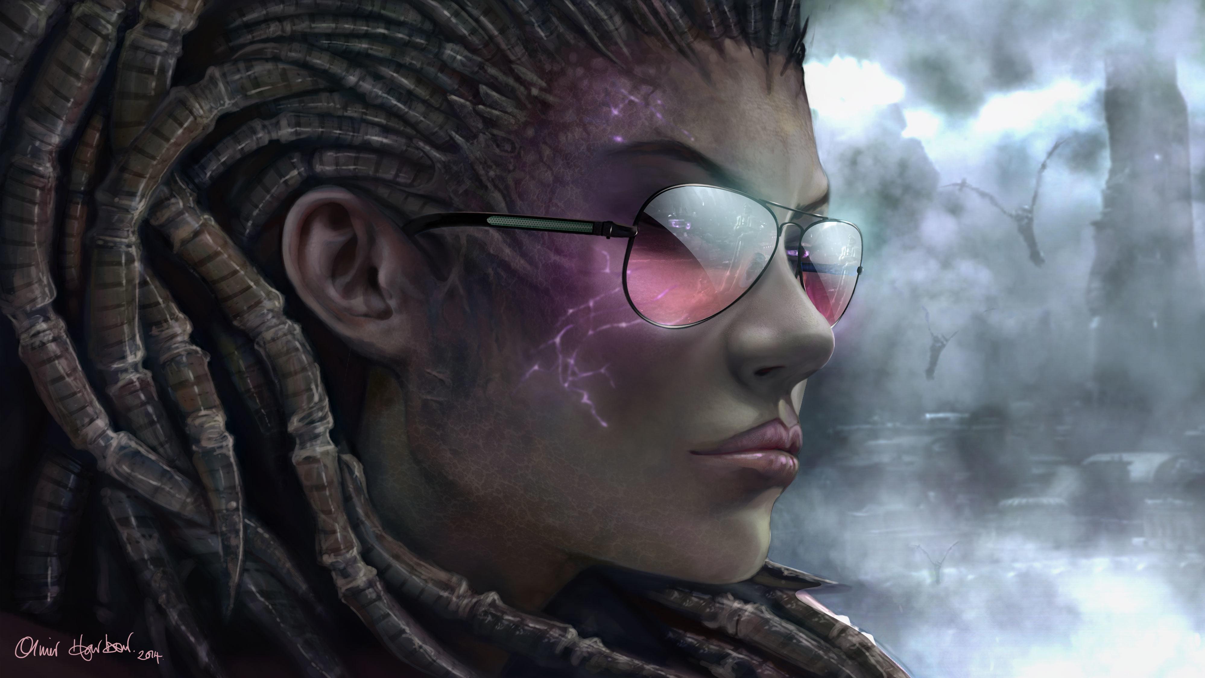Fantasy Girl Hd Wallpaper Free Download Image Starcraft 2 Queen Of Blades Sarah Kerrigan Girl