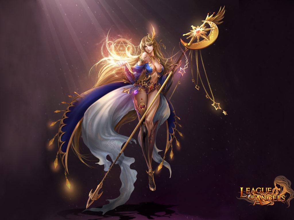 Background Hd Wallpaper Girl League Of Angels Varda Elegant Girl Goddess Of The Stars