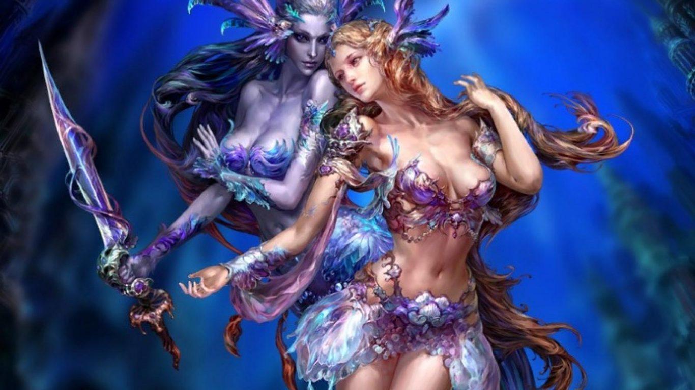 Tekken 5 Hd Wallpaper Download Mermaid Ancient Times Girl Fantasy Chinese 1600x1200 Hd