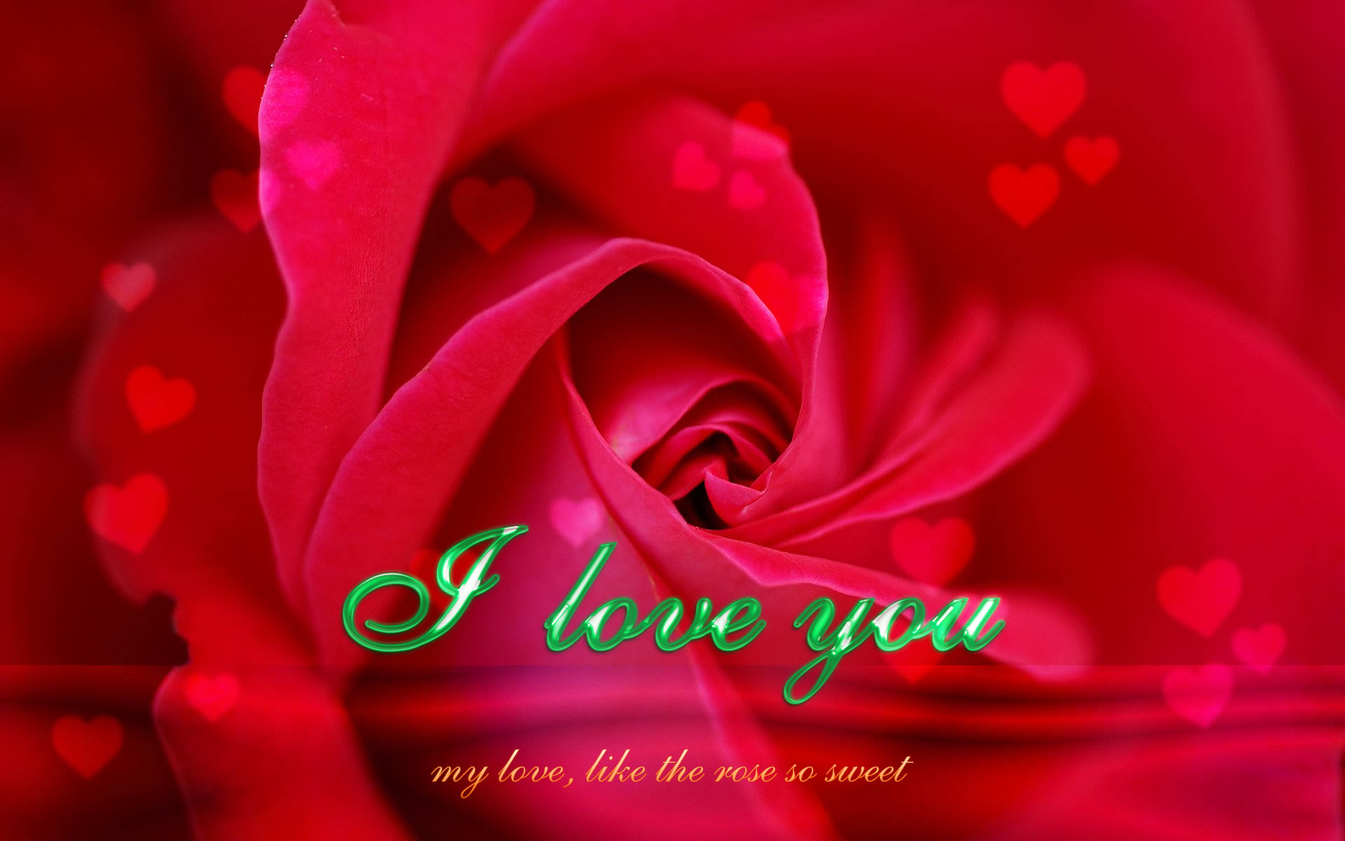 Kiss Day Hd Wallpaper With Quotes My Love Like The Rose So Sweet Love You Wallpapers13 Com