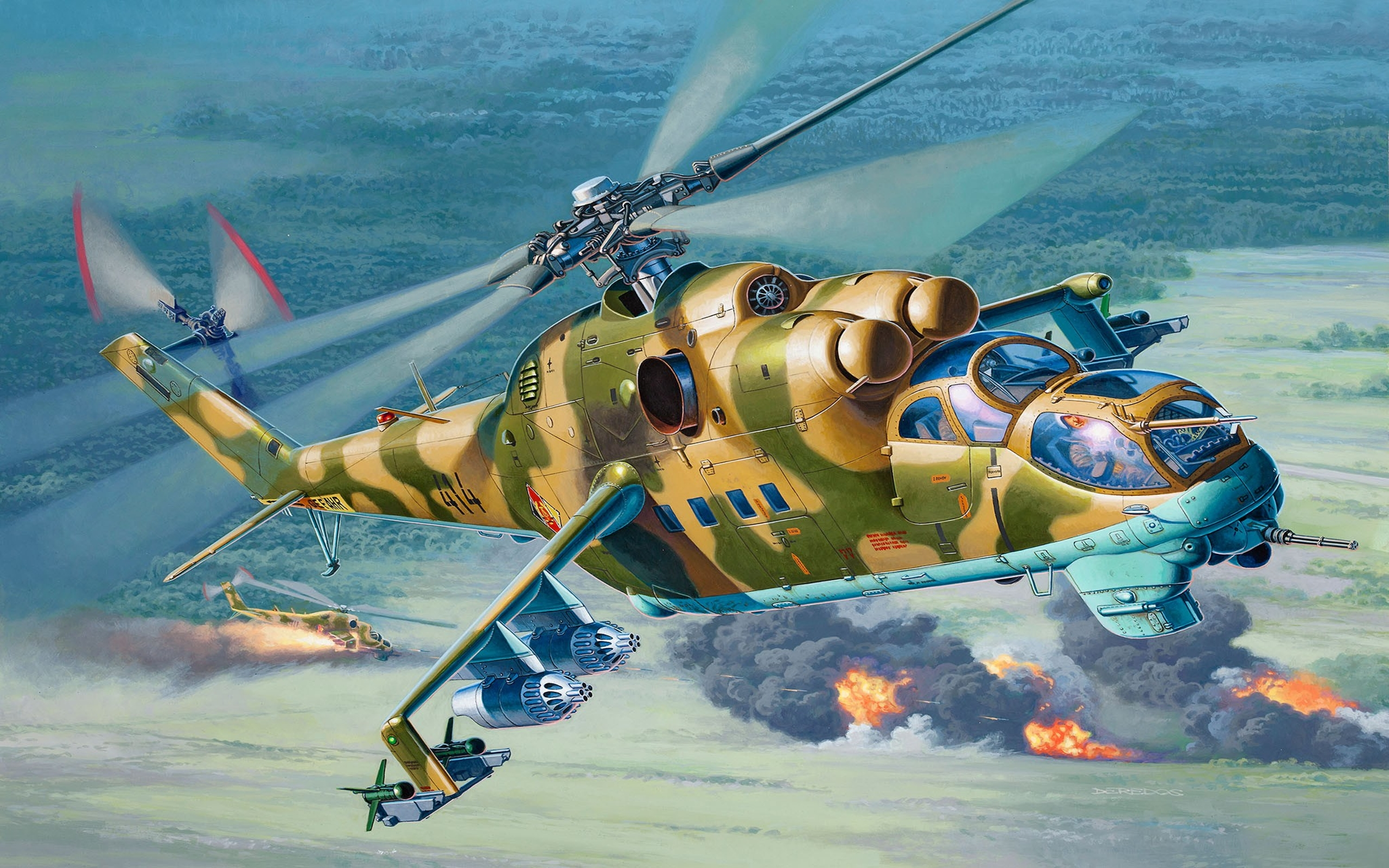 Airplane Wallpaper Iphone X Revell 04942 Mil Mi 24d Hind 1 48 Wallpapers13 Com