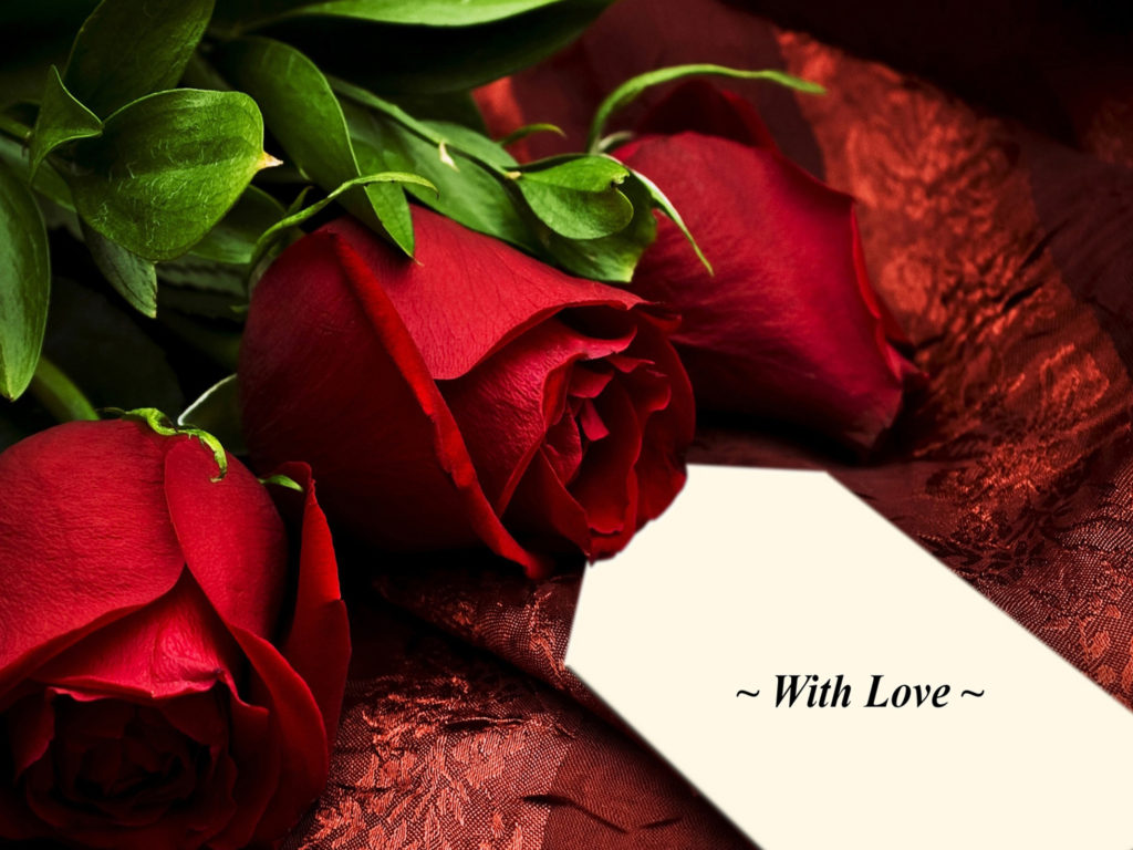 Pretty Quote Wallpapers Romance Pretty Red Roses Romantic Rose With Love 1937404