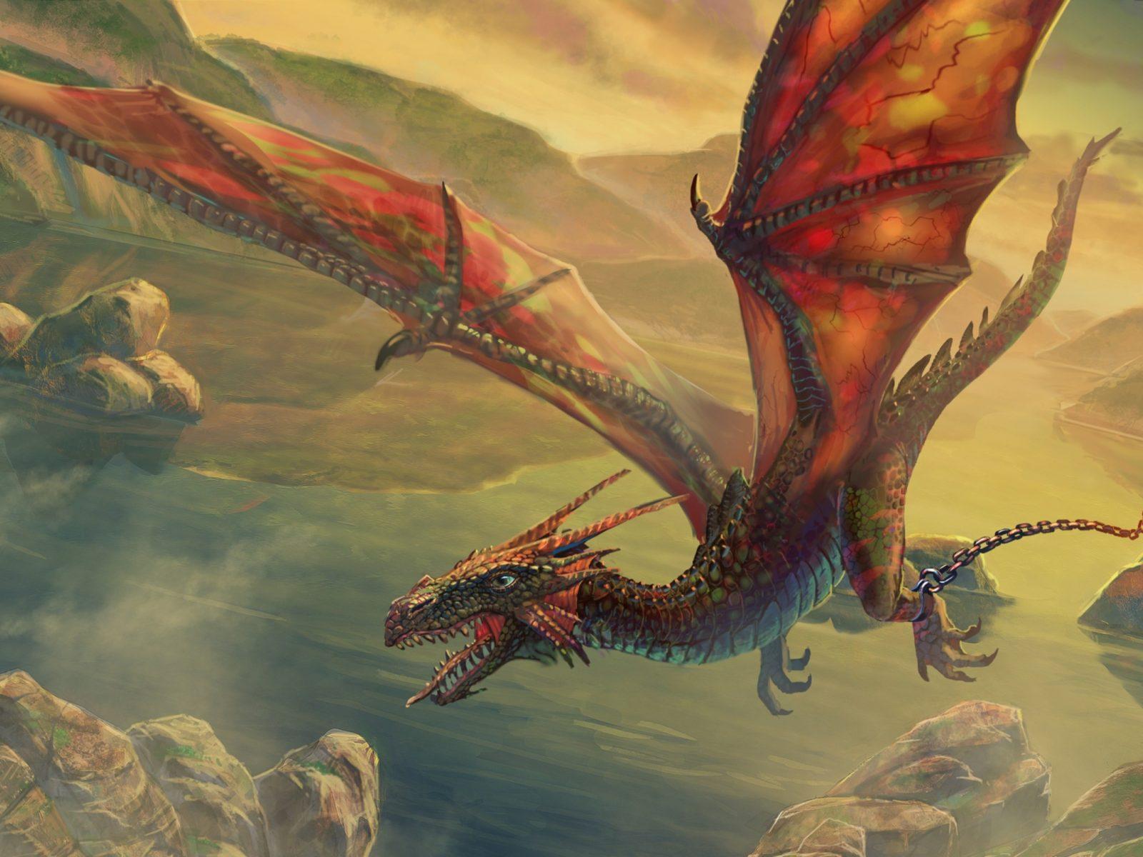 Get It Girl Wallpaper Wings Dragons Flying Fantasy Art Escape Artwork Air