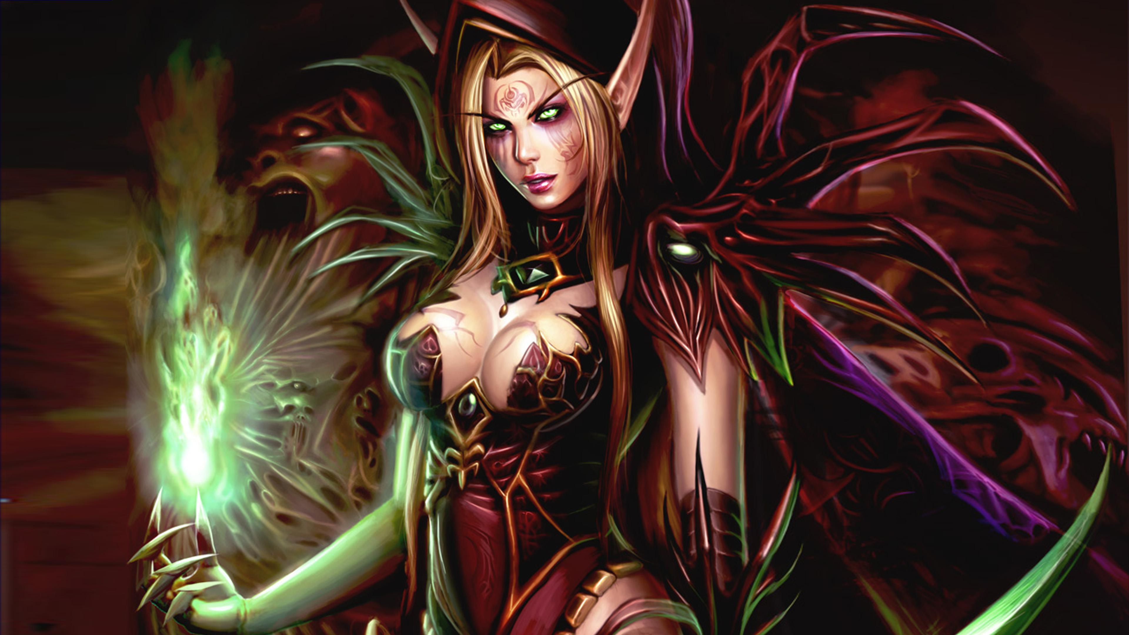 Hunter X Hunter Wallpaper Iphone World Of Warcraft Video Game Female Characters Valeera