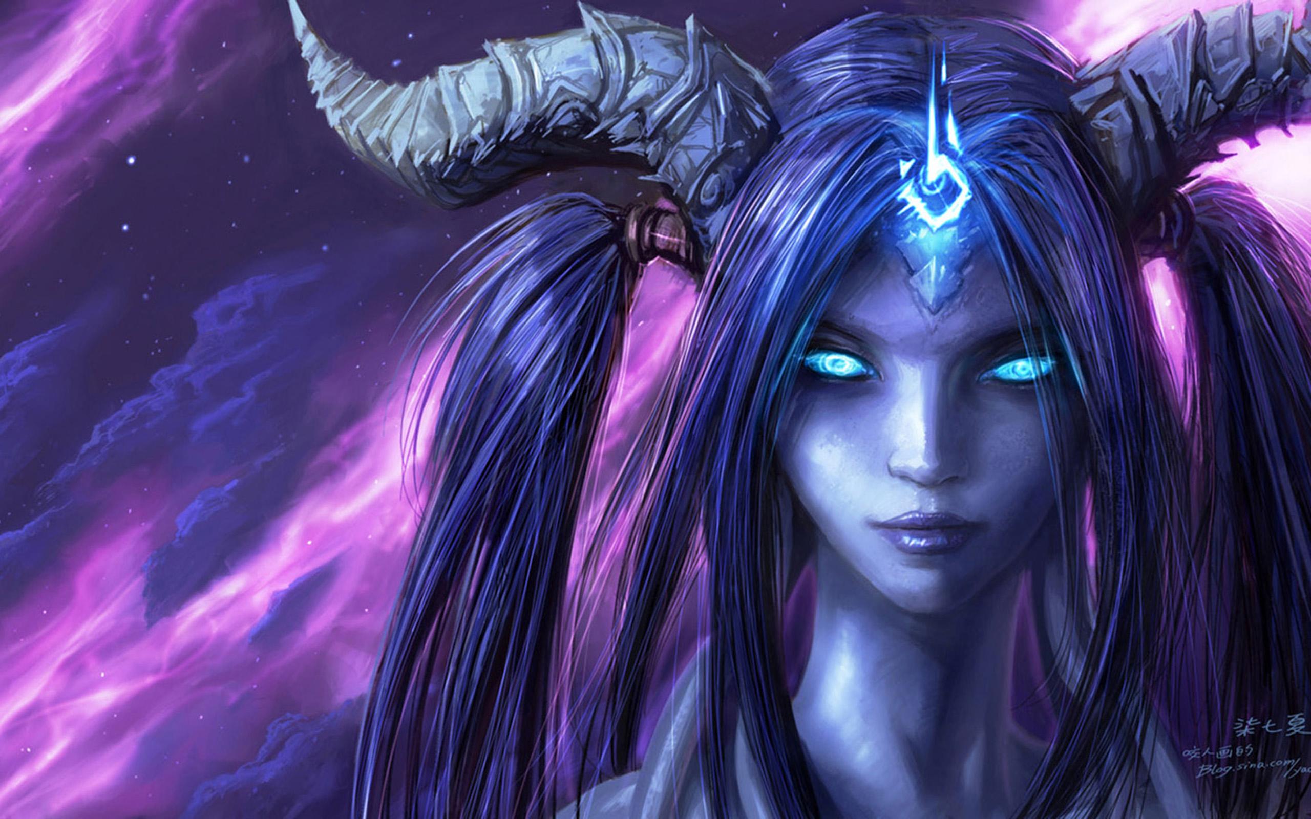 Anime Girl Angle Wallpaper 1366x768 World Of Warcraft Beauty Wallpapers Hd 2560x1600