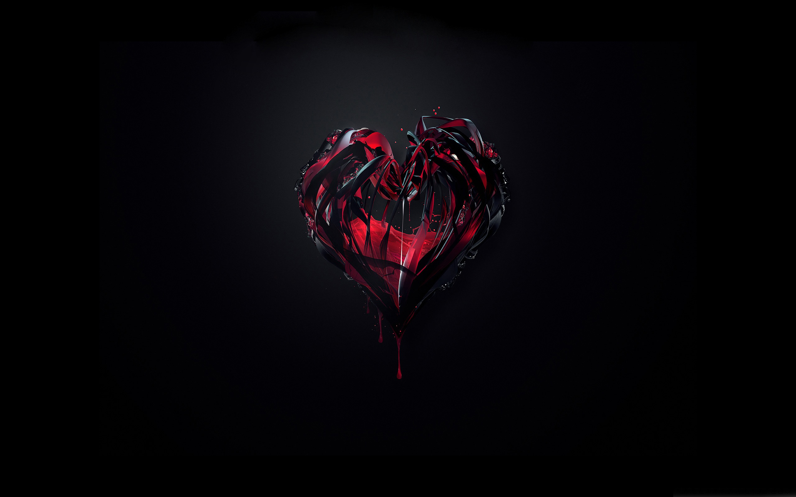 Broken Iphone Wallpaper Bleeding Heart Wallpaper 2560x1600 Wallpapers13 Com