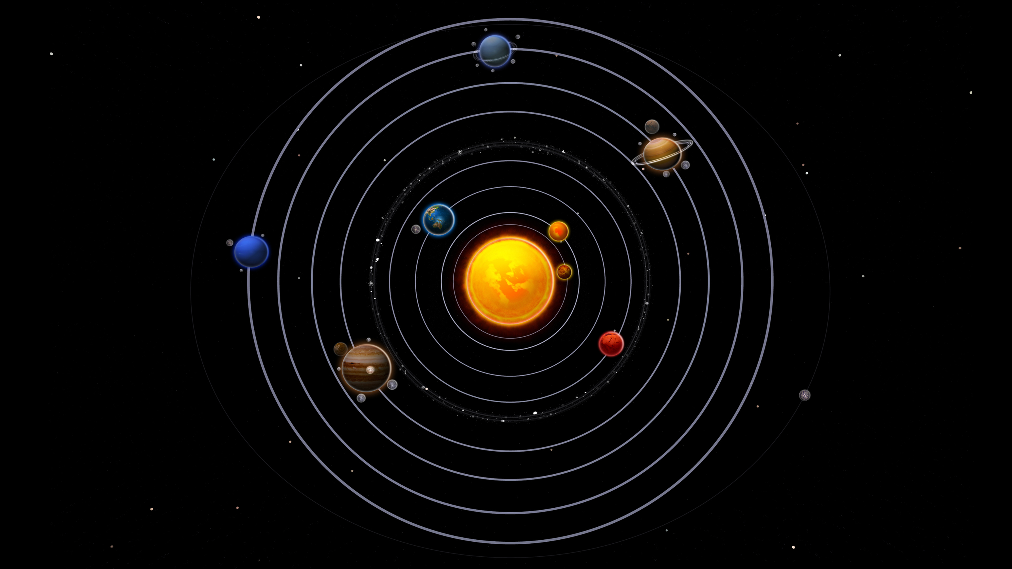 How To Get Moving Wallpapers On Iphone 4 Solar System 845492 Wallpapers13 Com