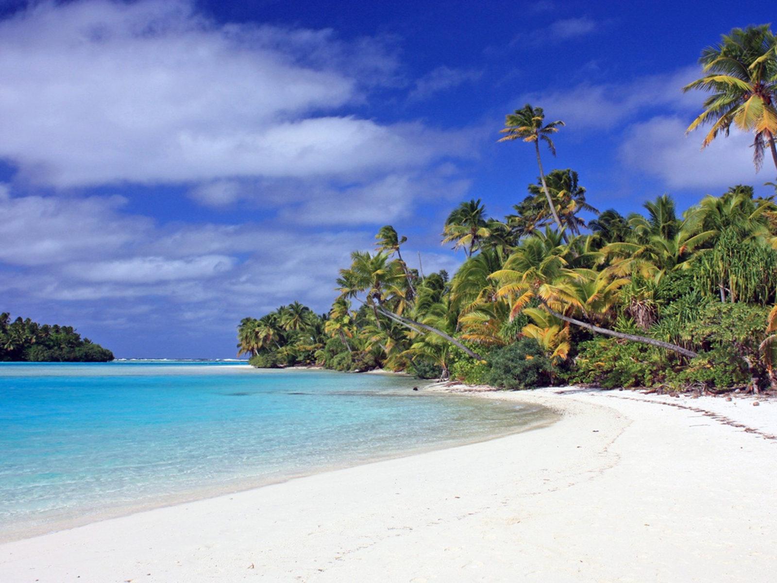 Wave Wallpaper Iphone X Aitutaki Cook Islands Wallpapers13 Com