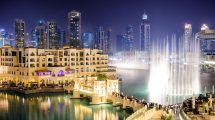 Dubai Fountains Allpaper Hd 94659