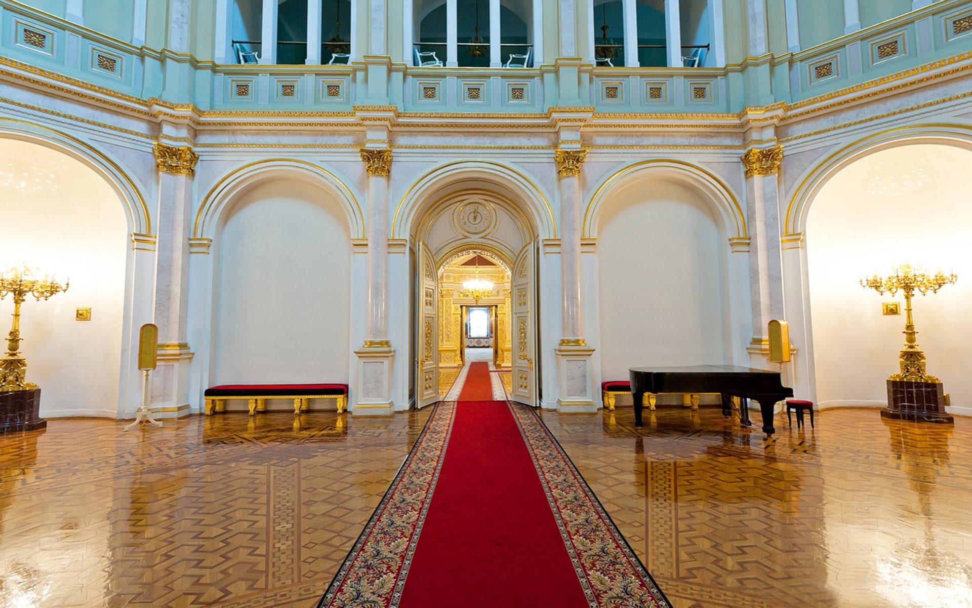 Inside Iphone X Wallpaper Grand Kremlin Palace Inside View Wallpapers13 Com