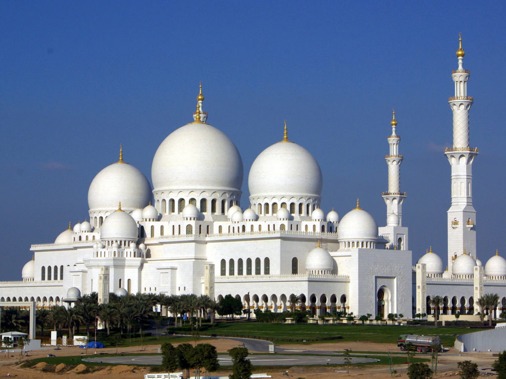 Best Christmas Wallpaper For Iphone Muslim Mosque Of White Marble Sheikh Zayed Grand Mosque