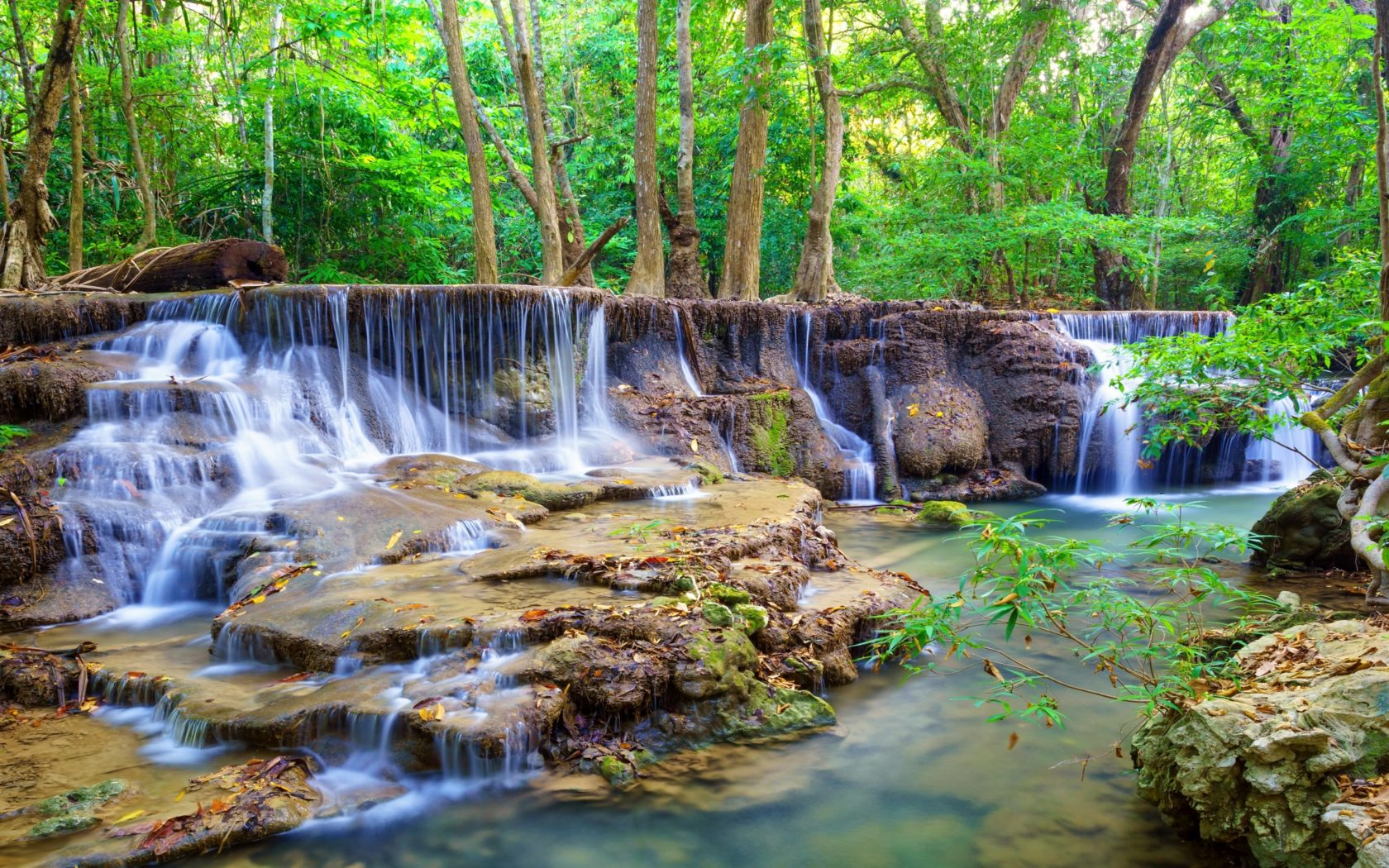 Angel Falls Hd Wallpaper Waterfalls Forests Stones Nature Wallpapers And Photos