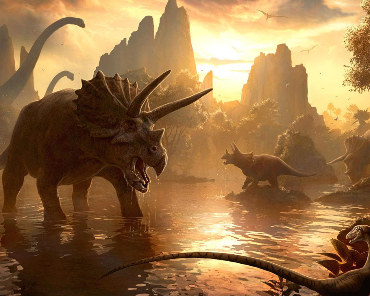 Awesome Hd Wallpapers For Pc Animals Of The Past Ancient World Of Dinosaurs Desktop Hd