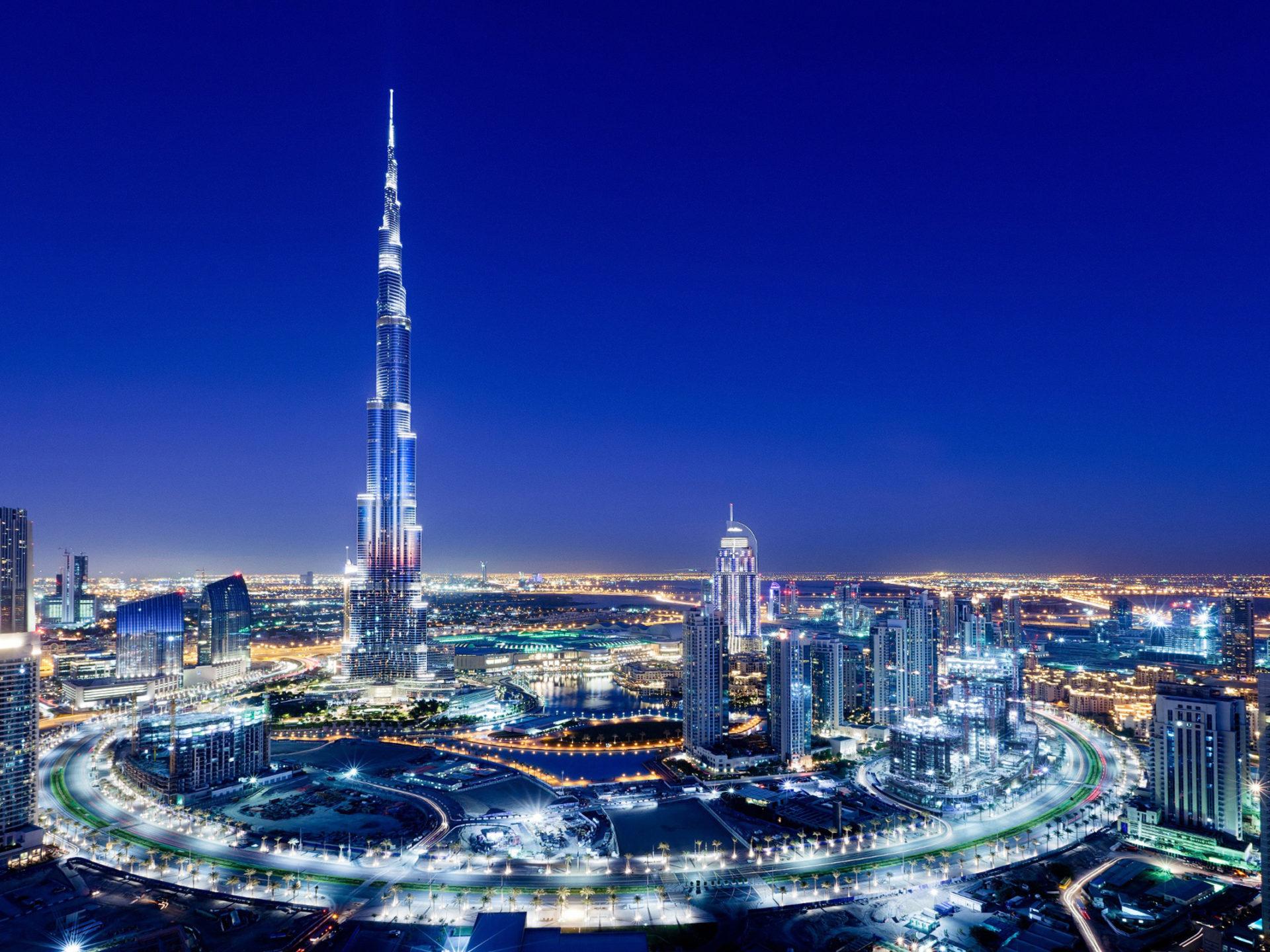London Wallpaper Hd 1920x1080 Dubai City Night Amazing Facilities Burj Khalifa Hd