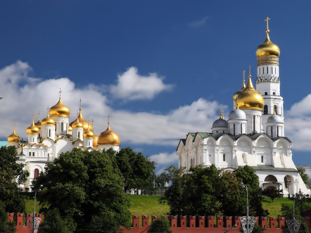Kremlin Moscow Russia Orthodox  Wallpapers13com