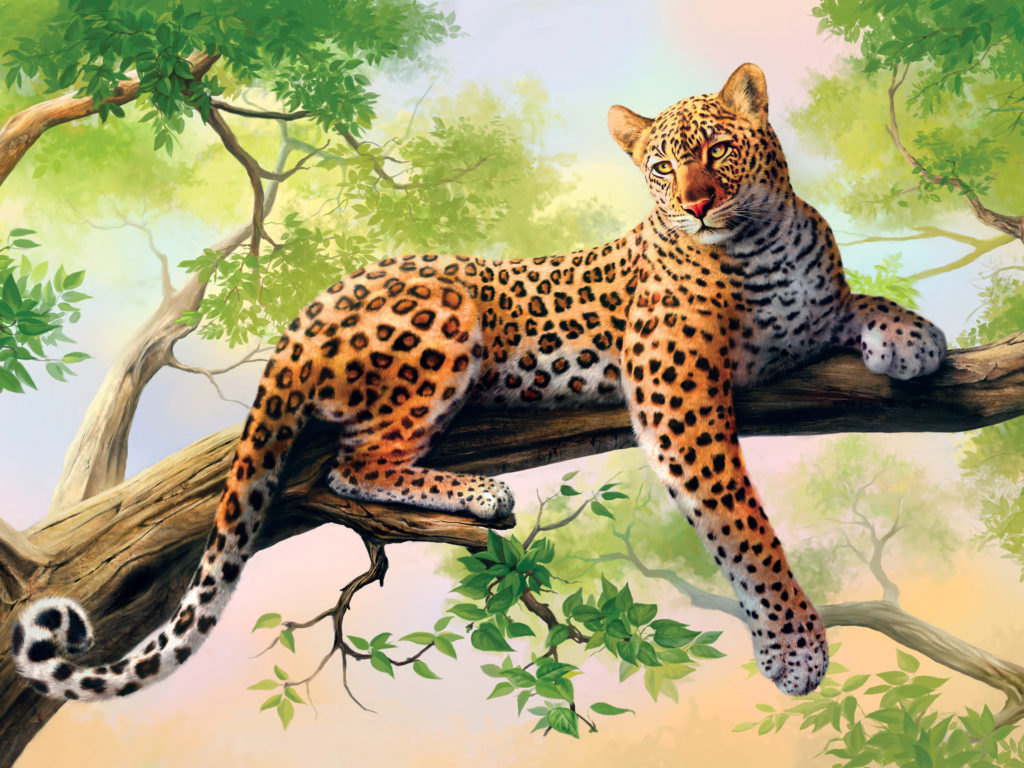 Lock Screen Cute Wallpaper Leopard Art Wide Screen 3840x2400 Wallpapers13 Com