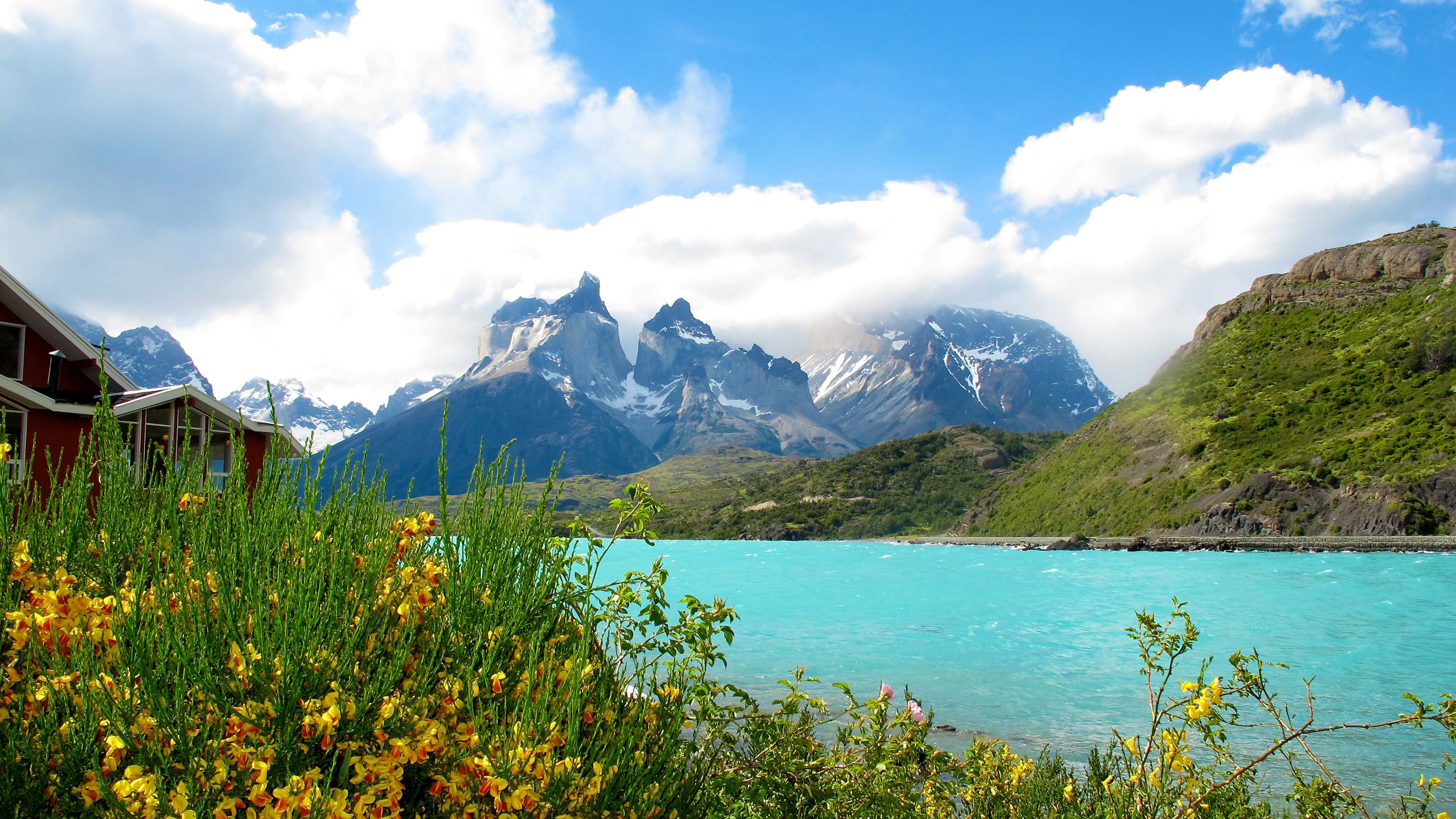 Free Christmas Wallpaper Iphone 4 Cuernos Horns Del Paine Torres Del Paine National Park