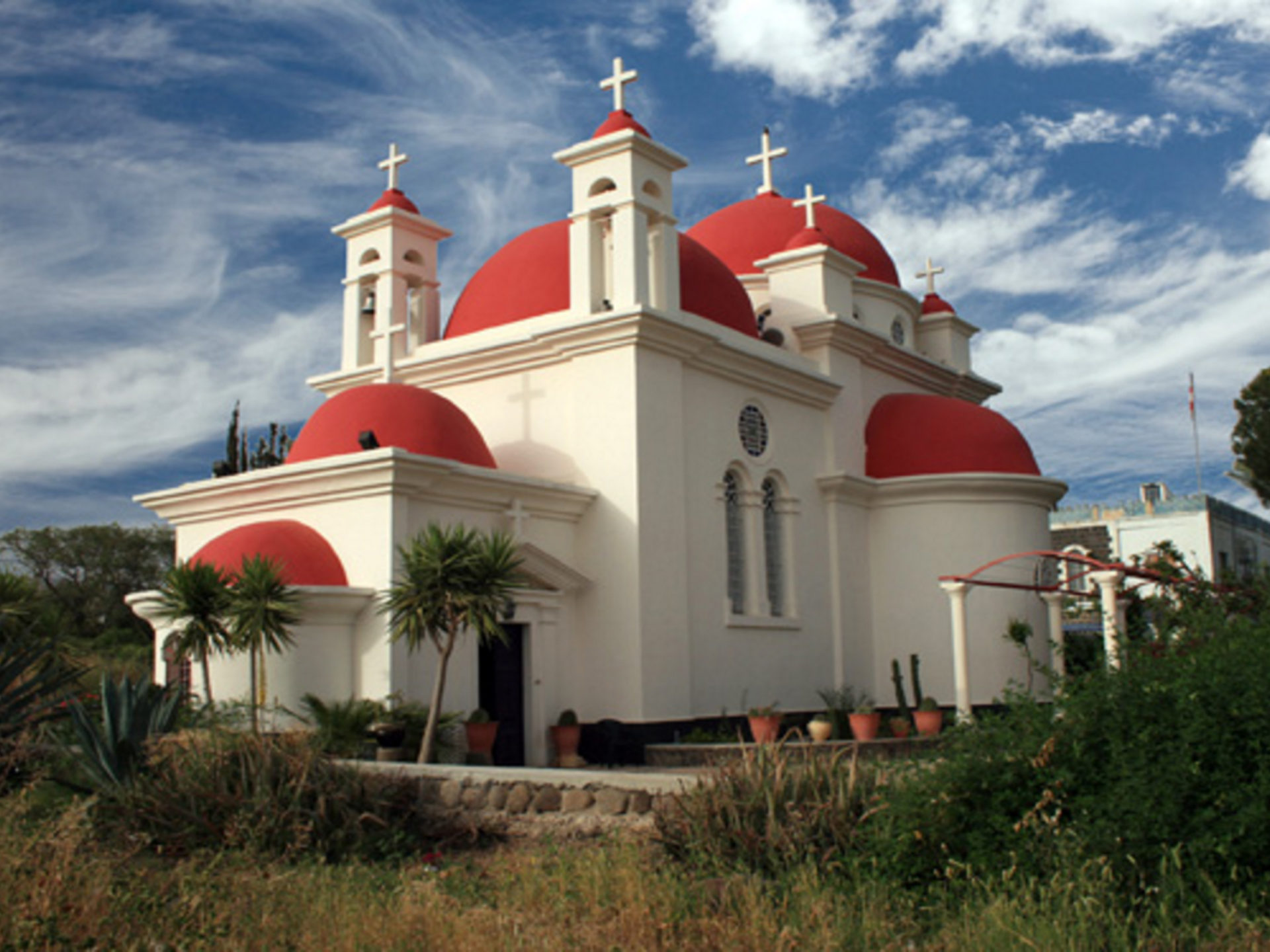 The Greek Orthodox Church Of The Seven Apostles In