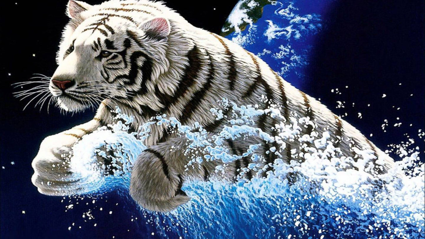 3d Snow Wallpaper For Android White Tiger Widescreen 3840x2400 Hd Wallpapers