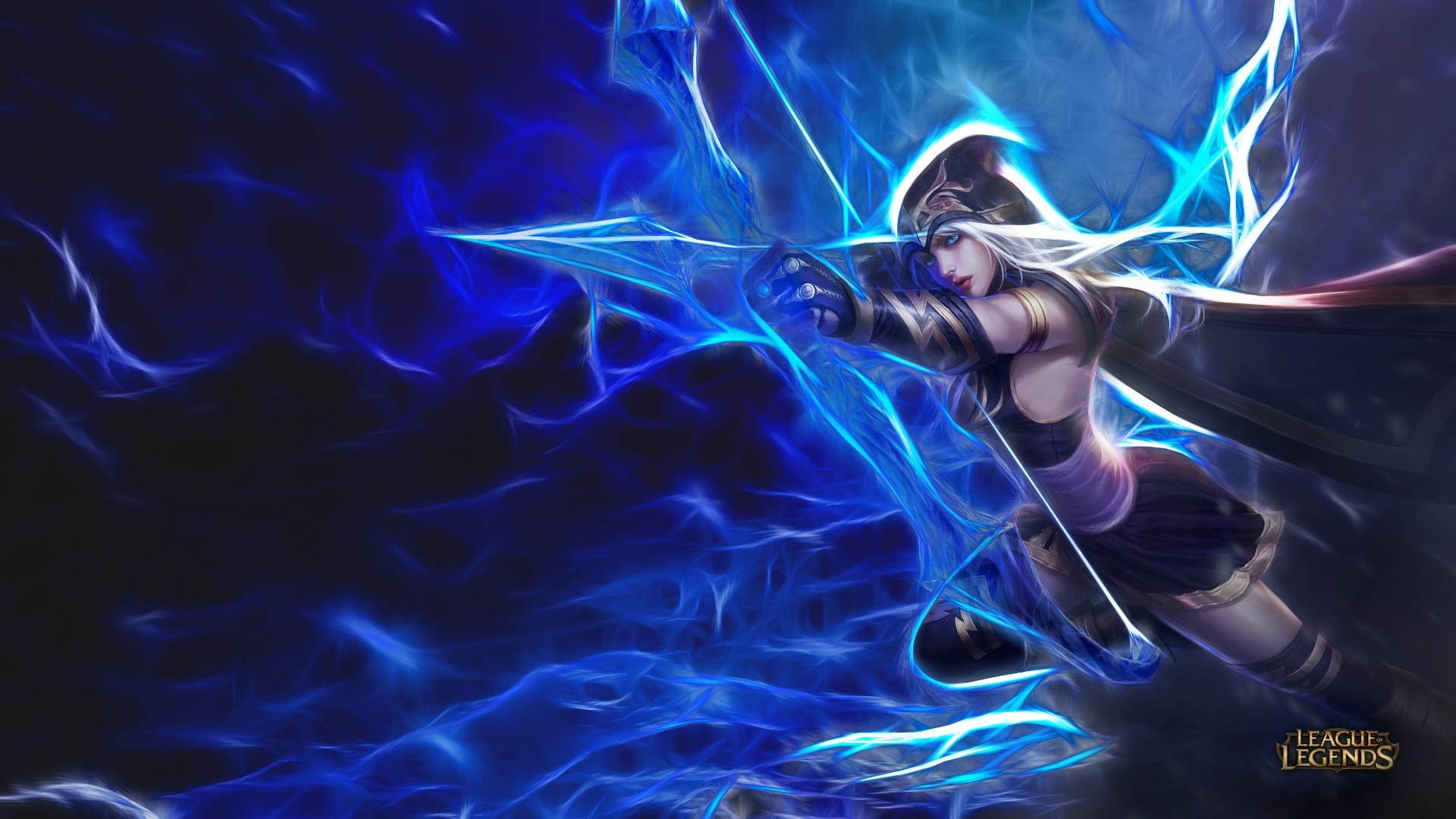 Descargar 3d Image Live Wallpaper Para Android Ashe League Of Legends Archer Artistic Hd Wallpapers For