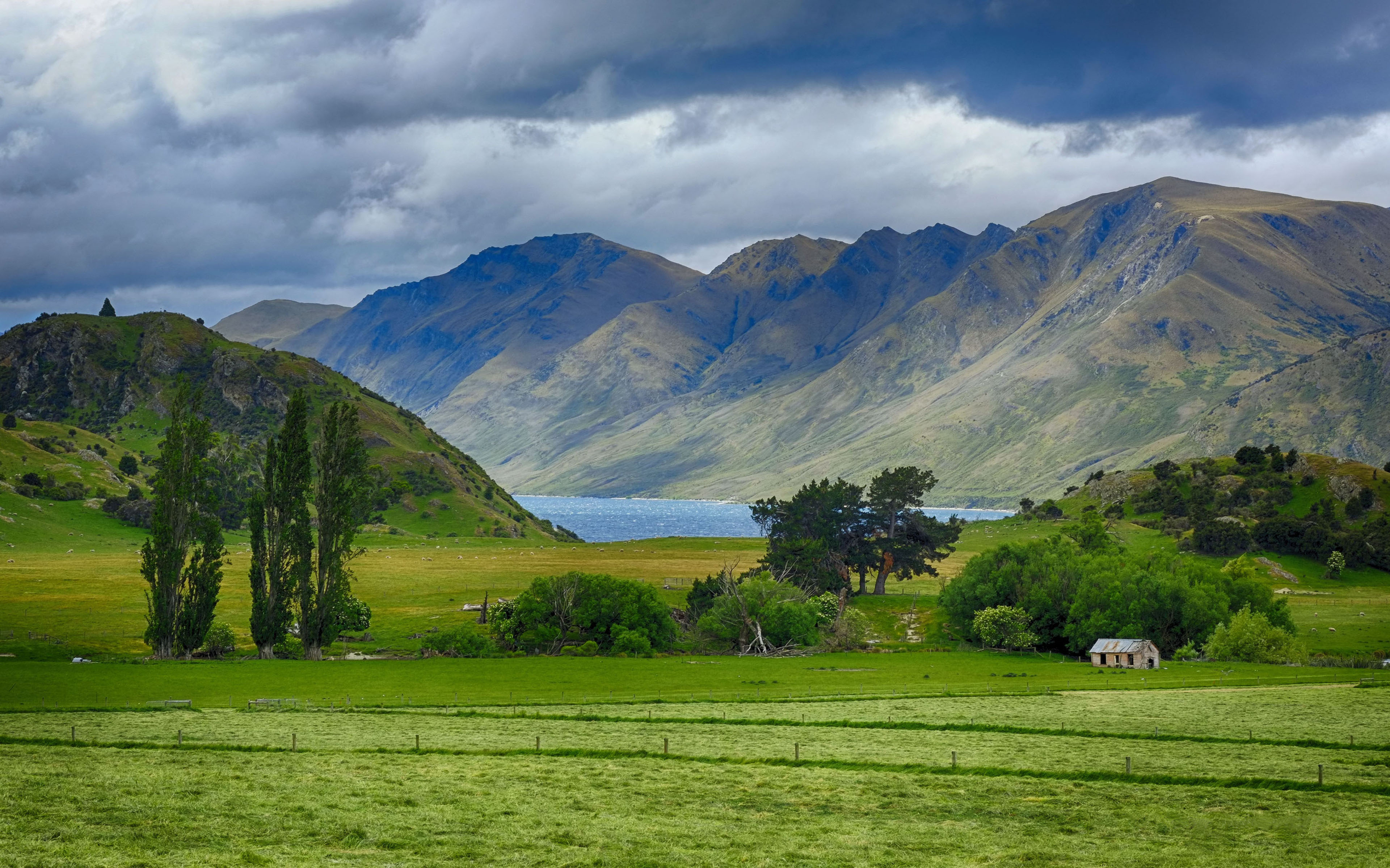 Landscape Of New Zealand Beautiful Hd Wallpaper For Your