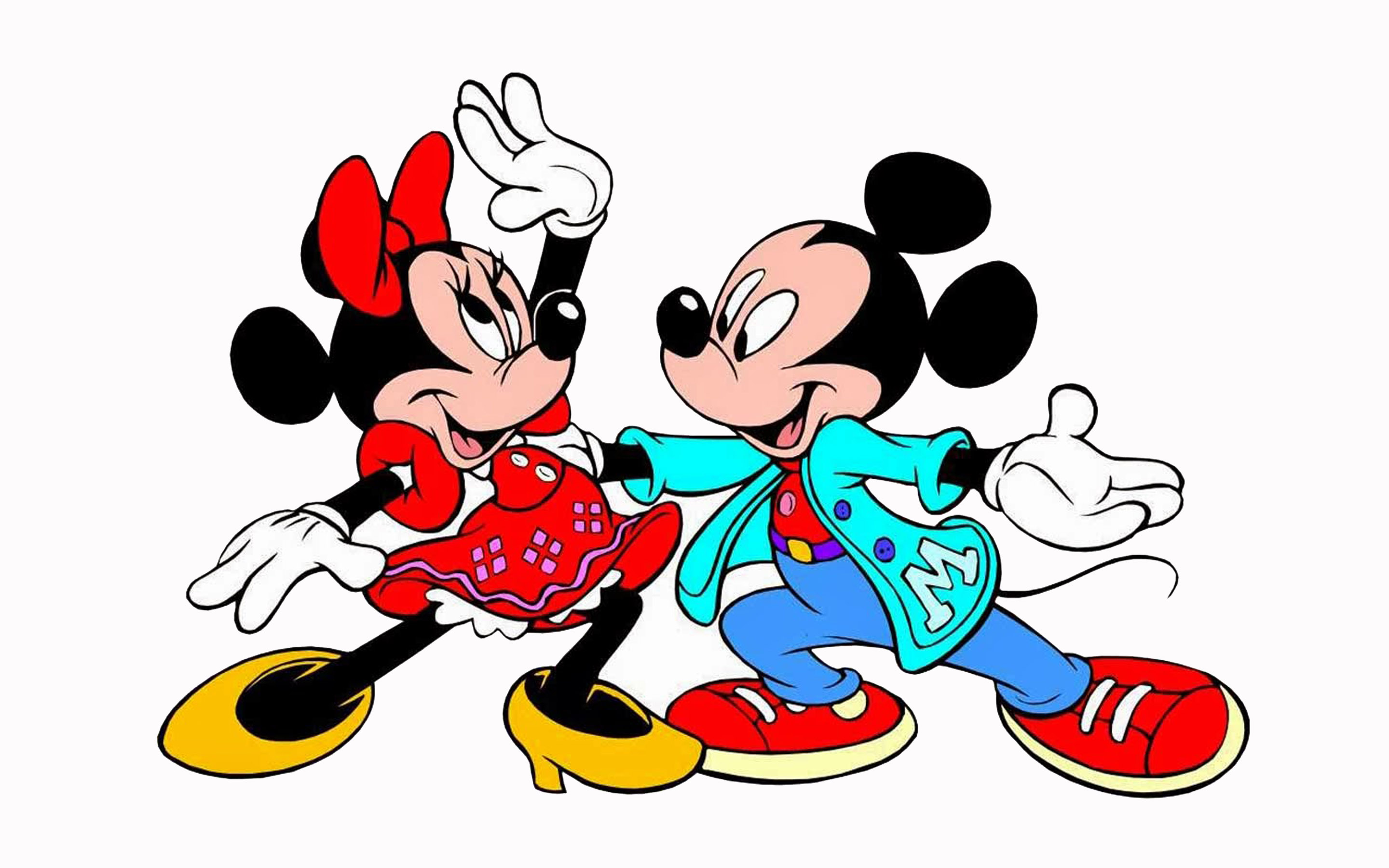 mickey minnie mouse dancing cartoons hd wallpapers for mobile phones and laptops wallpapers13 com
