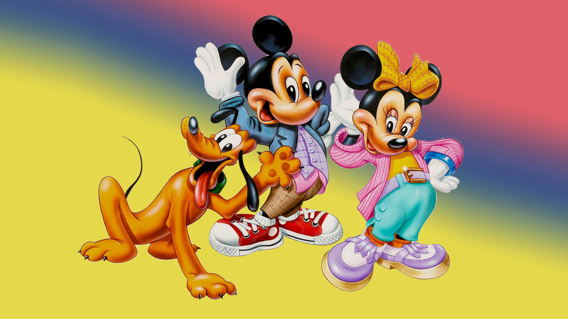 walt disney poster mickey mouse and friends wallpaper hd 1920x1200 wallpapers13 com