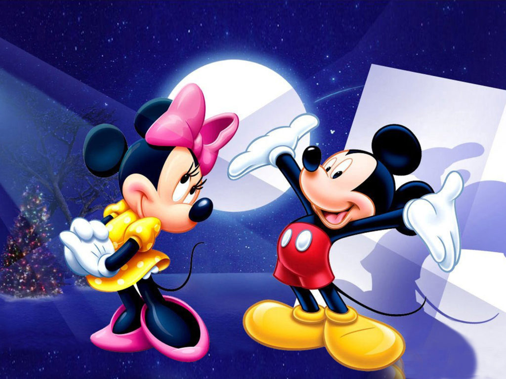 Happy New Year Iphone Wallpaper Mickey And Minnie Mouse Hd Mobile Wallpapers Free Download