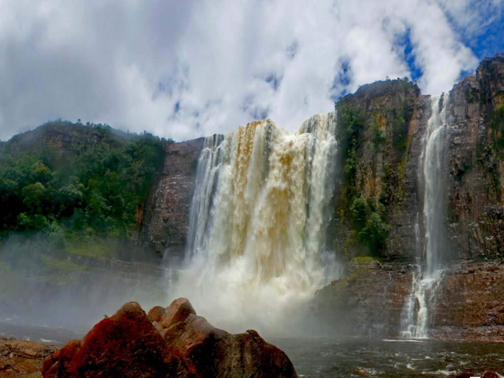 Niagara Falls Night Wallpaper Photos Angel Falls Guayana Canaima National Park Venezuela Hd