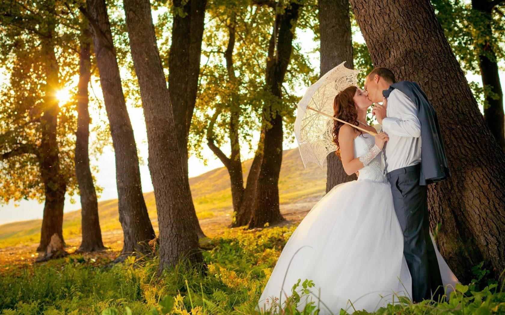 Beautiful Cute Baby Girl Wallpaper Kissing Under Trees Romantic Couple Wallpaper Kissing