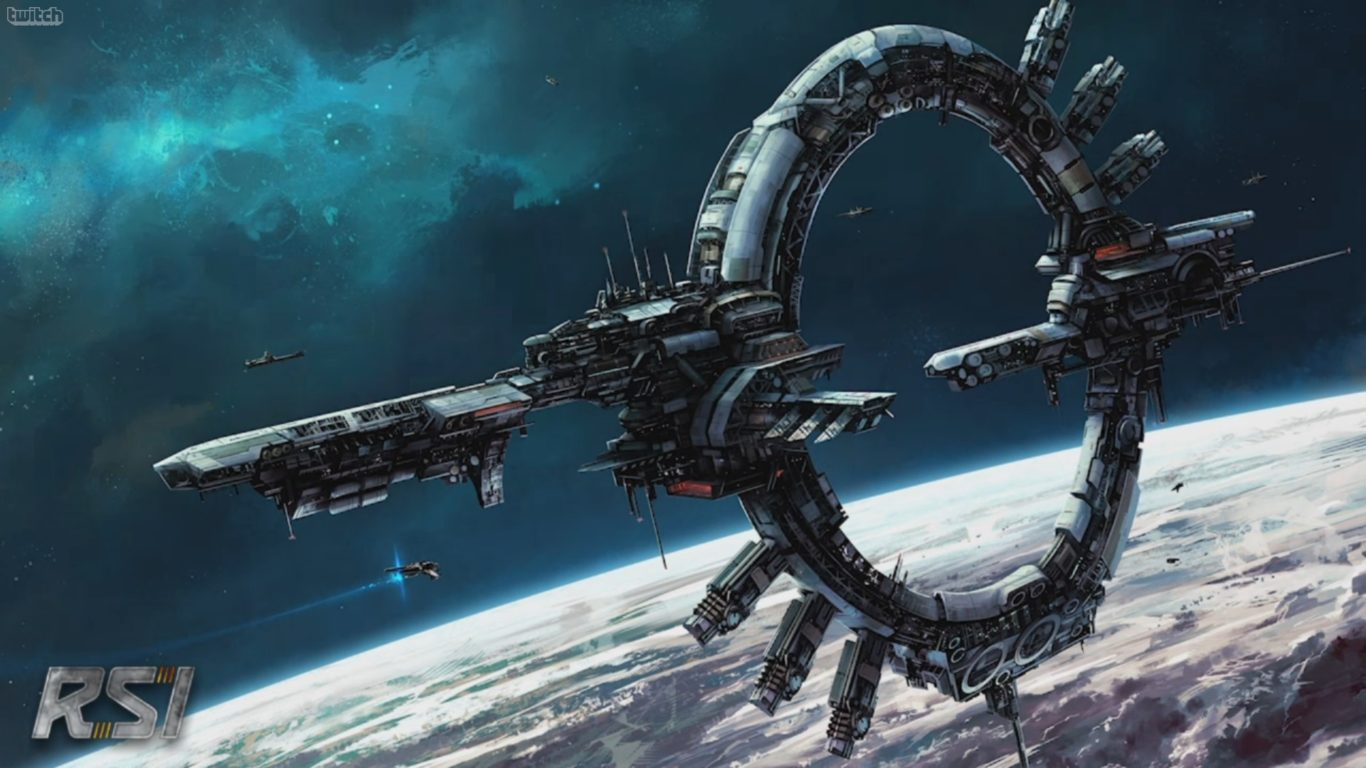 Stargate Iphone Wallpaper Space Station Full Hd Wallpapers 1080p Wallpapers13 Com