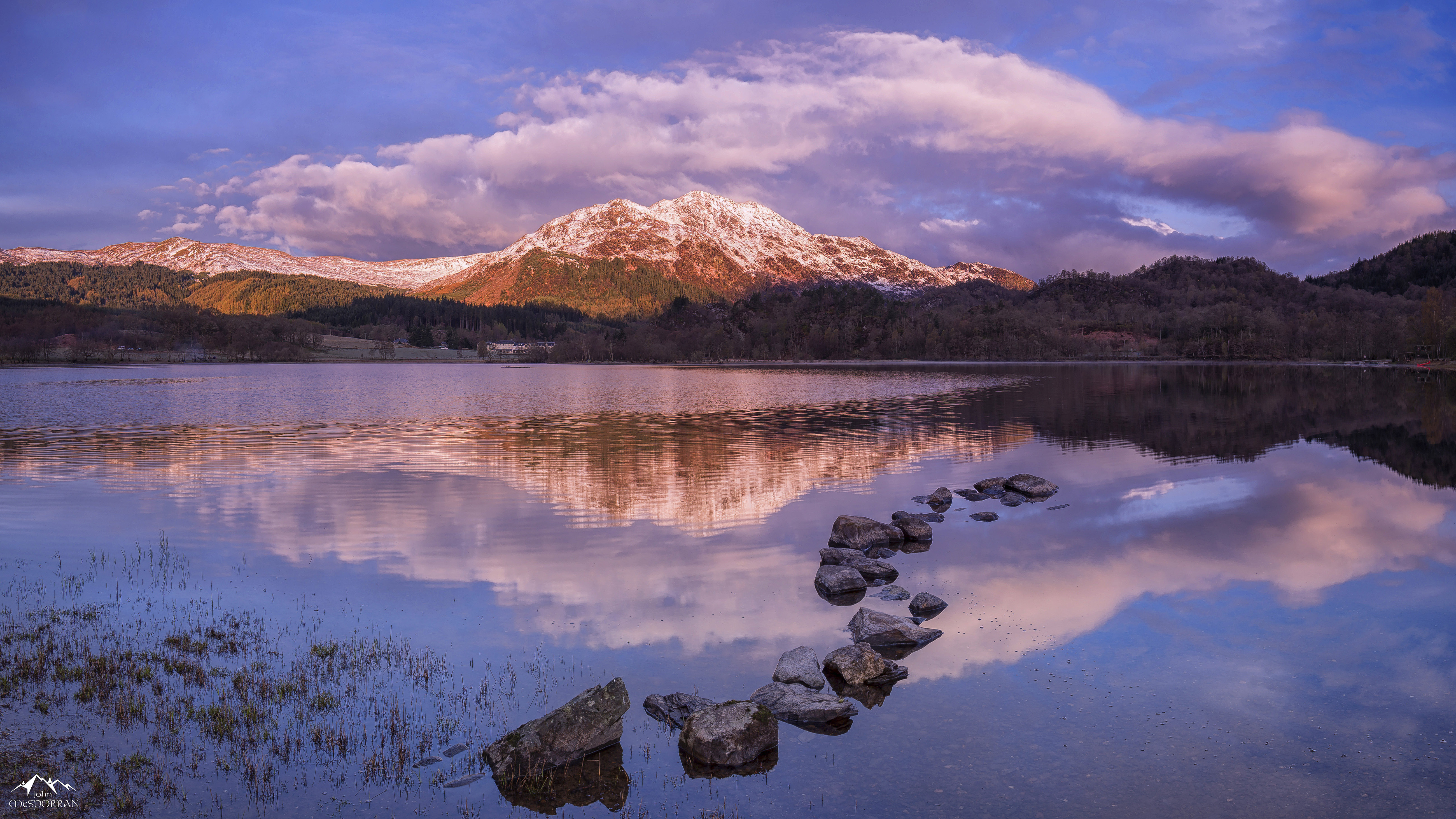 Fall 2016 Wallpaper Sunrise Landscape Photography Scotland Ben Place Over Loch