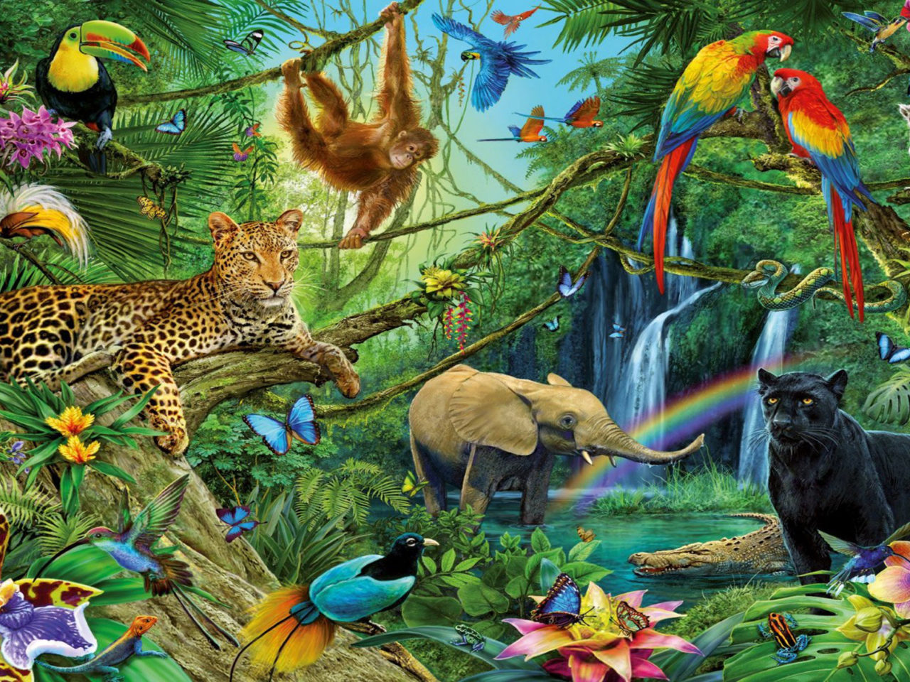 Iphone X Motion Wallpaper Animal Kingdom Dwellers Of The Jungle Desktop Backgrounds