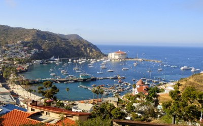 Bay Avalon, Santa Catalina Island California ...
