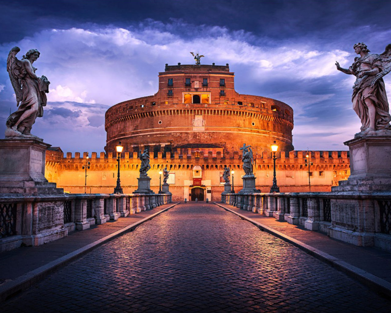 Magic Wallpaper Iphone X Castel Sant Angelo Is Towering Cylindrical Building In