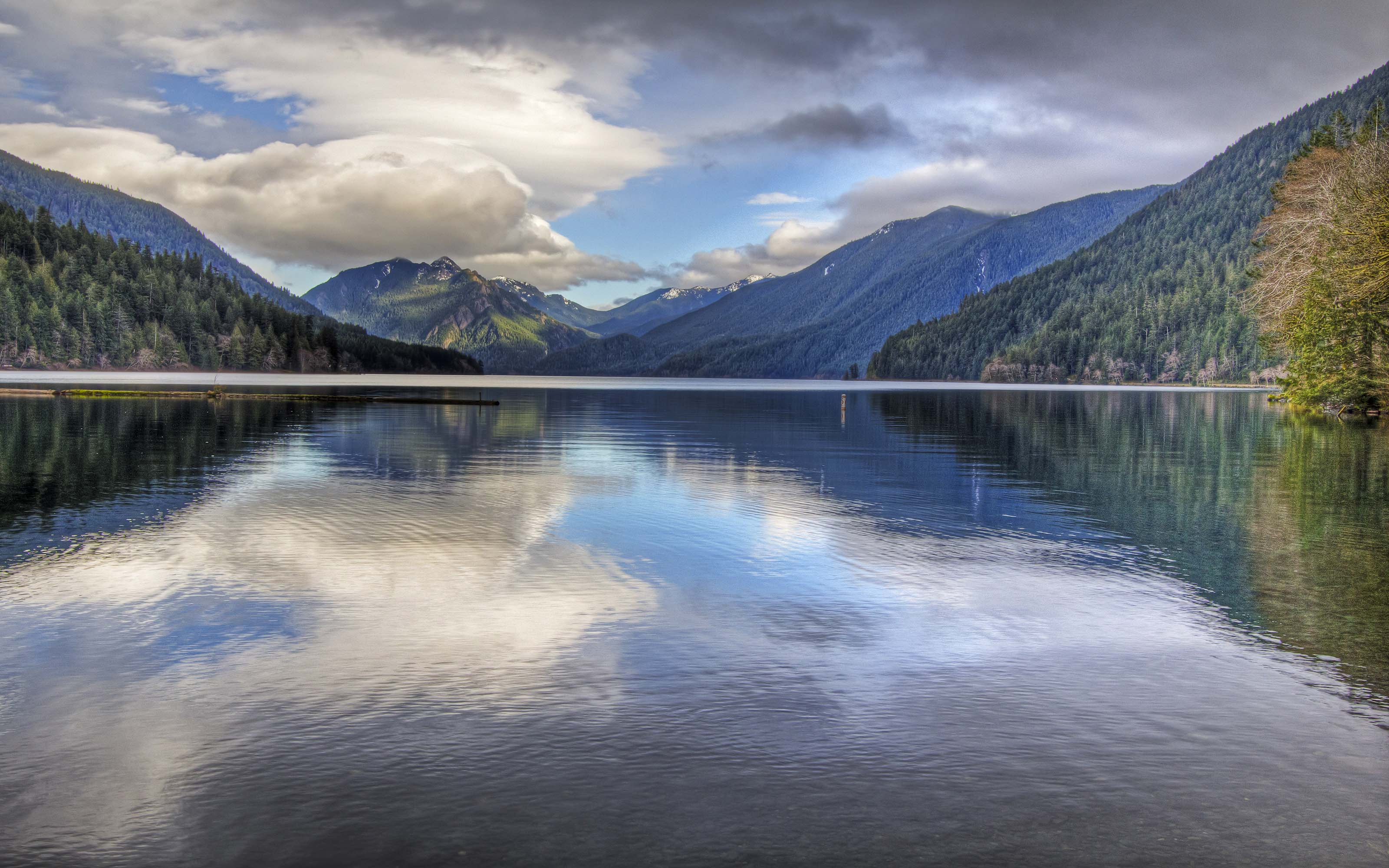 River Wallpapers Hd Lake Crescent Located In Northwest Washington Wallpaper